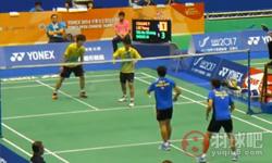 An Khang TAI/Mun Choon WOONVSYu-Wei CHIANG/Yang LEE 2014台北万博体育手机下载 男双资格赛