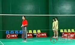 对高杀 陈伟华羽毛球教学视频 第37集