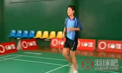 移动起跳杀球 陈伟华羽毛球教学视频 第12集