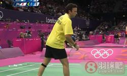 佐佐木翔VS科登 2012奥运会羽毛球 男单资格赛视频