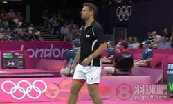 李宗伟VS朗 2012奥运会羽毛球 男单资格赛视频