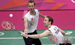 鲍伊/摩根森VS郑在成/李龙大 2012奥运会羽毛球 男双半决赛视频