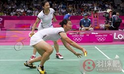 古塔/蓬纳帕VS简毓瑾/程文欣 2012奥运会羽毛球 女双资格赛视频