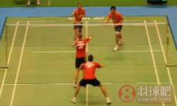 尼尔森/佩蒂森VS何汉斌/包宜鑫 2011日本公开赛 混双1/16决赛视频
