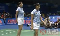 程文欣/简毓瑾VS古塔/蓬纳帕 2011苏迪曼杯 女双资格赛视频