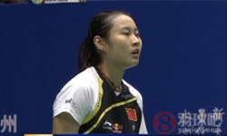 王仪涵VS因达农 2012中国大师赛 女单1/4决赛视频