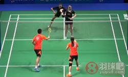 刘成/包宜鑫VS尼尔森/佩蒂森 2014羽联总决赛 混双半决赛视频