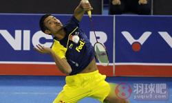 林丹VS约根森 2012韩国公开赛 男单1/4决赛视频
