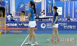 波莉/乔哈里VS罗布克/克鲁斯 2012韩国公开赛 女双1/8决赛视频