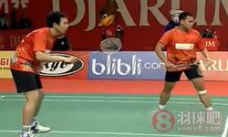 李龙大/郑在成VS基多/塞蒂亚万 2012印尼公开赛 男双半决赛视频