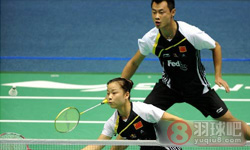 徐晨/马晋VS艾哈迈德/纳西尔 2012马来公开赛 混双半决赛视频