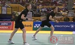 佩蒂森/尤尔VS河贞恩/金旼贞 2012马来公开赛 女双决赛视频