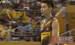 李宗伟VS田儿贤一 2012马来公开赛 男单决赛视频
