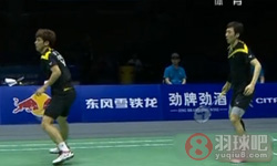 鲍伊/摩根森VS高成炫/柳延星 2012汤姆斯杯 男双半决赛视频