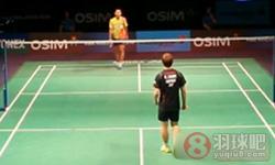 田儿贤一VS索尼 2013世界羽联总决赛 男单资格赛视频