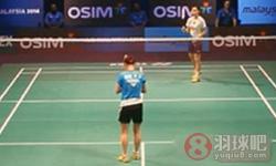 李雪芮VS裴延姝 2013羽联总决赛 女单半决赛视频