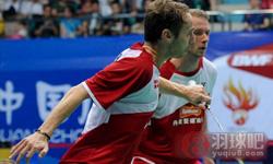鲍伊/摩根森VS普拉塔玛/萨普特拉 2013羽毛球世锦赛 男双1/4决赛视频