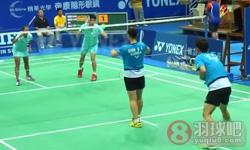 李龙大/申升瓒VS杨潮江/萨里 2013台北公开赛 混双1/4决赛视频