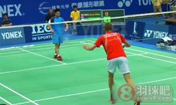 许仁豪VS阿萨尔森 2013台北公开赛 男单1/4决赛视频