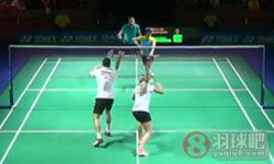 克里斯/加布里VS伊万诺夫/蓬纳帕 2015德国公开赛 混双1/8决赛视频
