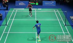 薛松VS乔纳坦 2015瑞士公开赛 男单1/4决赛视频