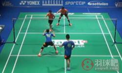 刘成/包宜鑫VS阿马德/纳西尔 2015瑞士公开赛 混双半决赛视频