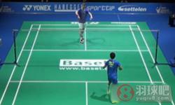 薛松VS阿萨尔森 2015瑞士公开赛 男单半决赛视频