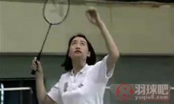 后场劈吊球《学打羽毛球》教学视频 第18集