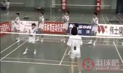 后场平高球《学打羽毛球》教学视频 第15集