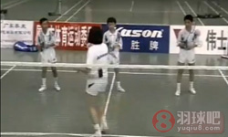 综合步法练习《学打羽毛球》教学视频 第13集
