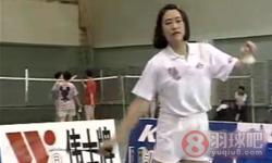 正手发后场高远球《学打羽毛球》教学视频 第4集