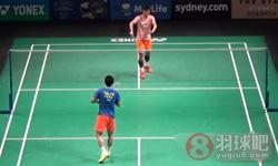 谌龙VS田厚威 2015澳大利亚公开赛 男单半决赛视频