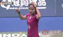 因达农VS裴延姝 2015台北公开赛 女单1/4决赛视频