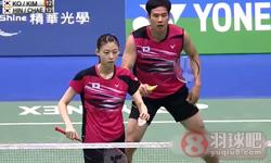 高成炫/金荷娜VS申白喆/蔡侑玎 2015台北公开赛 混双决赛视频