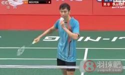 李东根VS阮天明 2015羽毛球世锦赛 男单资格视频