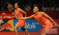 张楠/赵芸蕾VS刘成/包宜鑫 2015羽毛球世锦赛 混双决赛视频