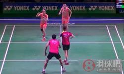 张楠/赵芸蕾VS高成炫/金荷娜 2015日本公开赛 混双半决赛视频