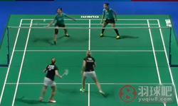 尼蒂娅/波莉VS穆斯肯斯/皮克 2015世界羽联总决赛 女双小组赛视频
