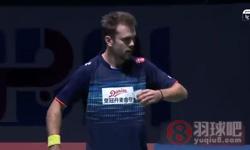 谌龙VS约根森 2015世界羽联总决赛 男单小组赛视频