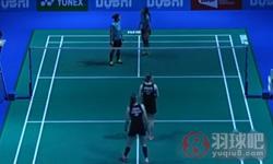 佩蒂森/尤尔VS尼蒂娅/波莉 2015世界羽联总决赛 女双半决赛视频