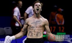 约根森VS金廷 2016汤姆斯杯 男单决赛视频