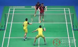 李龙大/柳延星VS刘成/鲁恺 2016全英公开赛 男双1/8决赛视频
