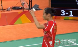 王仪涵VS马吉 2016年里约奥运会 女单资格赛视频