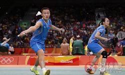 张楠/赵芸蕾VS乔丹/苏珊托 2016奥运会 混双小组赛视频