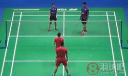 刘成/包宜鑫VS乔丹/苏珊托 2016全英公开赛 混双1/4决赛视频