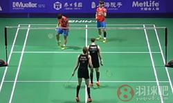 黄东萍/李茵晖VS尤尔/佩蒂森 2016中国公开赛 女双半决赛视频