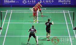 张艺娜/李绍希VS骆赢/骆羽 2016中国公开赛 女双半决赛视频