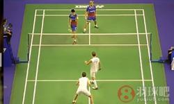 鲍伊/摩根森VS王耀新/张御宇 2016香港公开赛 男双1/4决赛视频