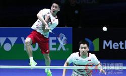 费尔纳迪/苏卡穆约VS李俊慧/刘雨辰 2017年马来公开赛 男双1/4决赛视频