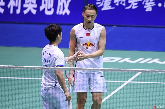 中国大师赛张楠混双止步4强 国羽女单全军覆没